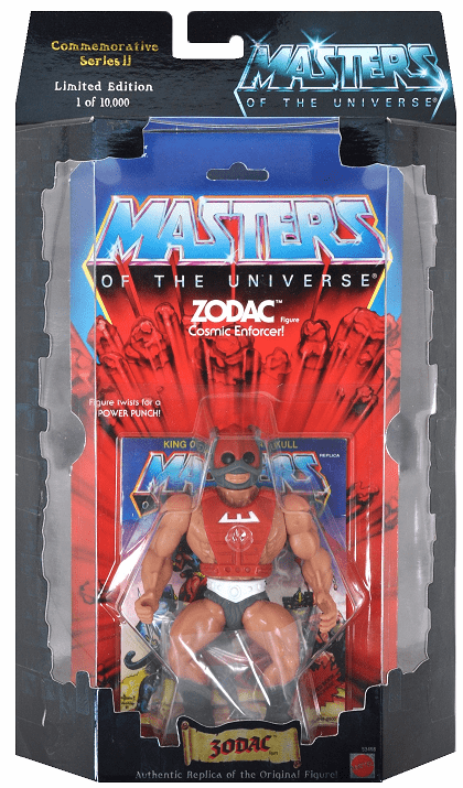 Masters of the Universe Commemorative Series Zodac Figure