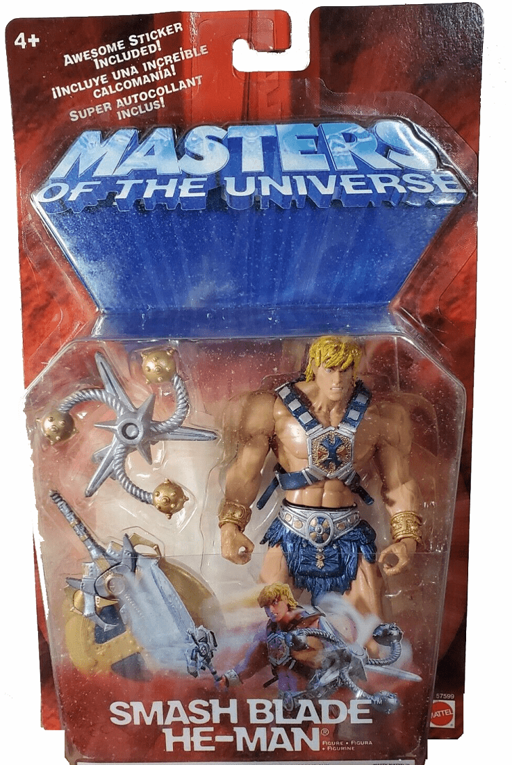 Masters of the Universe Smash Blade He-Man Figure