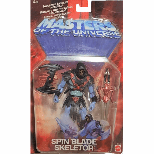 Masters of the Universe Spin Blade Skeletor Figure