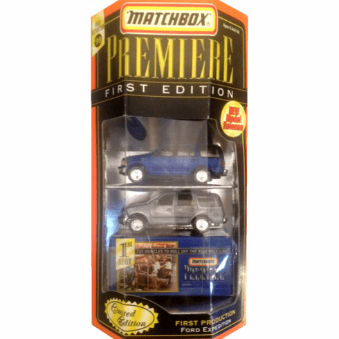 Matchbox Premiere First Edition Ford Expedition Set