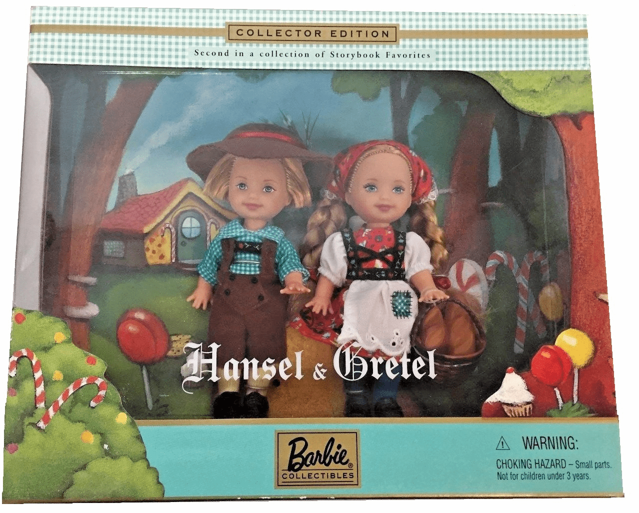 Mattel Barbie Collectibles Hansel & Gretel Collector Edition Set