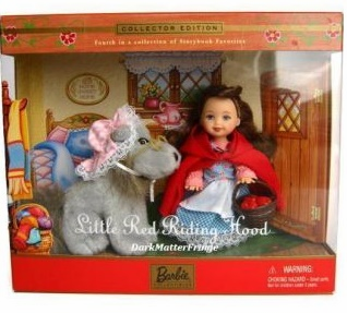 Mattel Barbie Collectibles Little Red Riding Hood Collector Edition Set