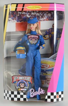 Mattel Barbie NASCAR 50th Anniversary Doll