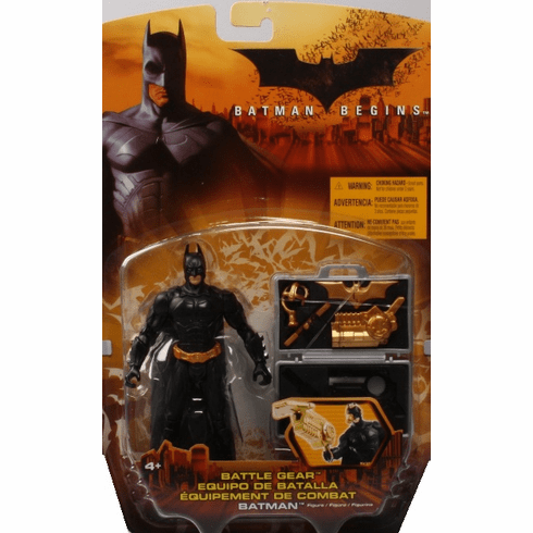 Mattel Batman Begins Battle Gear Batman Figure