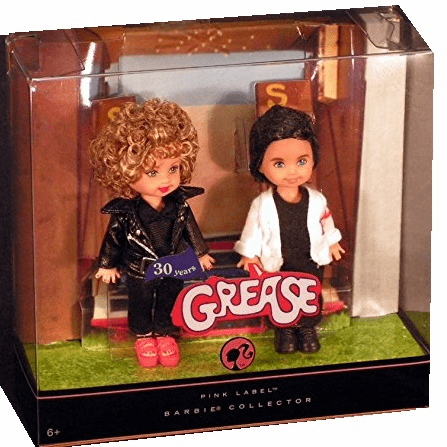Mattel Grease 30 Years Kelly & Tommy Pink Label Barbie Collection