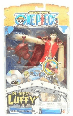 Mattel One Piece Pi-Ripz Luffy Action Figure