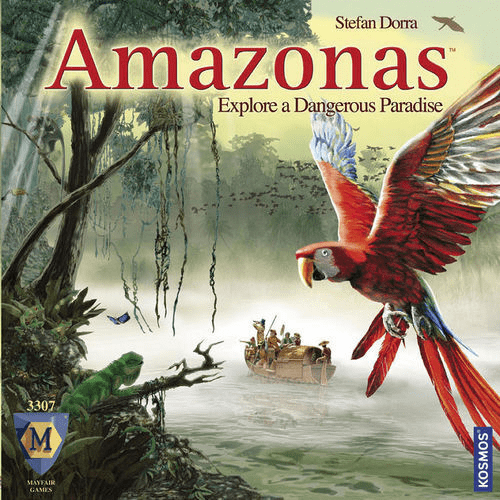 Mayfair Games Amazonas Board Game