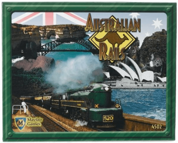 Mayfair Games Australian Rails Board Game
