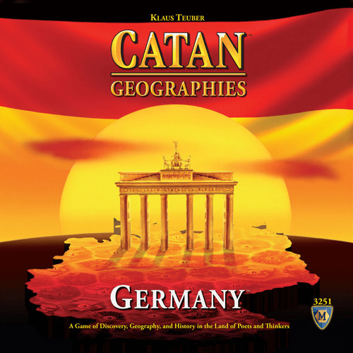 Mayfair Games Catan Geographies Germany Board Game