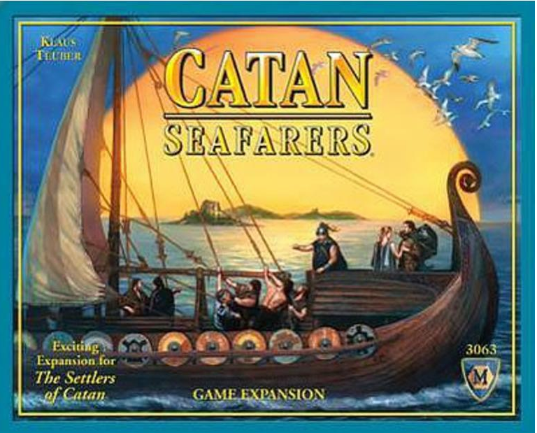 Mayfair Games Catan Seafarers 2007 Expansion