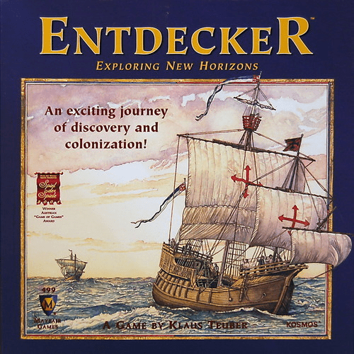 Mayfair Games Entdecker Exploring New Horizons Board Game