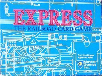 Mayfair Games Express The Railroad Card Game