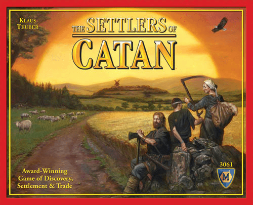 Mayfair Games Settlers of Catan 4th Edition Board Game