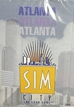 Mayfair Games Sim City Atlanta Starter Deck