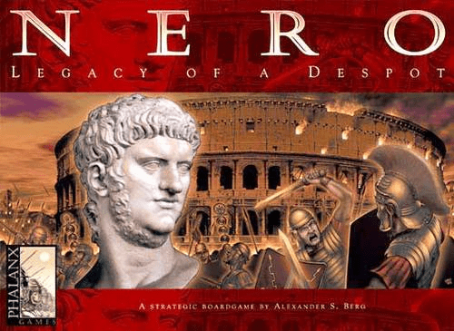Mayfair Phalanx Games Nero Legacy of a Despot Board Game