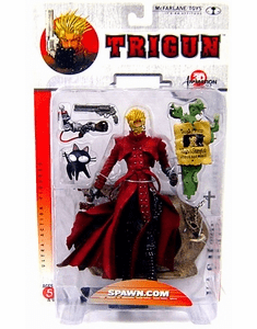 McFarlane 3D Animation Trigun Vash the Stampede Figure