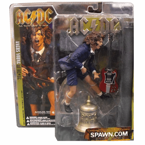 McFarlane AC/DC Hell's Bell Angus Young Figure