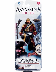 McFarlane Assassin's Creed Bartholomew Black Bart Roberts Figure