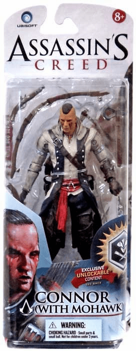 McFarlane Assassin's Creed Connor with Mohawk Figure