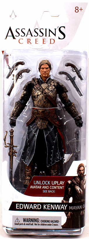 McFarlane Assassin's Creed Edward Kenway Mayan Outfit Figure