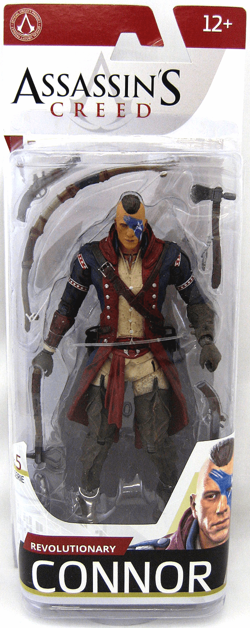 McFarlane Assassin's Creed Revolutionary Connor Figure
