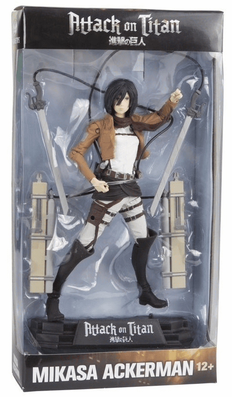 McFarlane Attack on Titan Mikasa Ackerman Figure