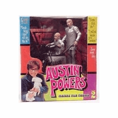 McFarlane Austin Powers Dr. Evil & Mini-Me Mini Mobile Box Set