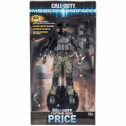 McFarlane Call of Duty 2 Captain John Price Figure