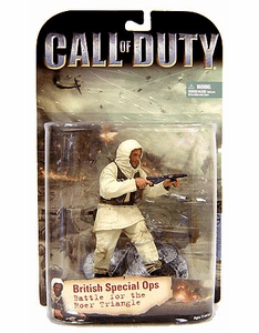 McFarlane Call of Duty British Special Ops Figure