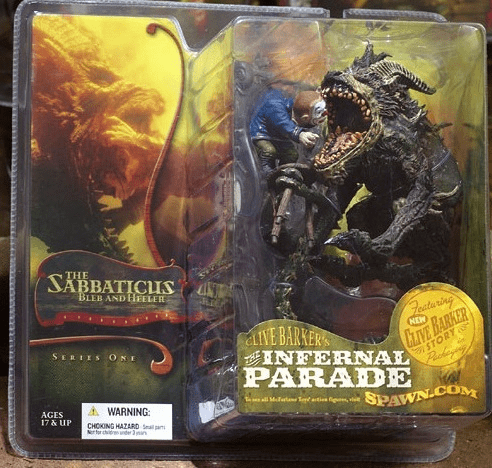McFarlane Clive Barker's Infernal Parade The Sabbaticus Figure