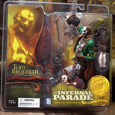McFarlane Clive Barker's Infernal Parade Tom Requiem Figure