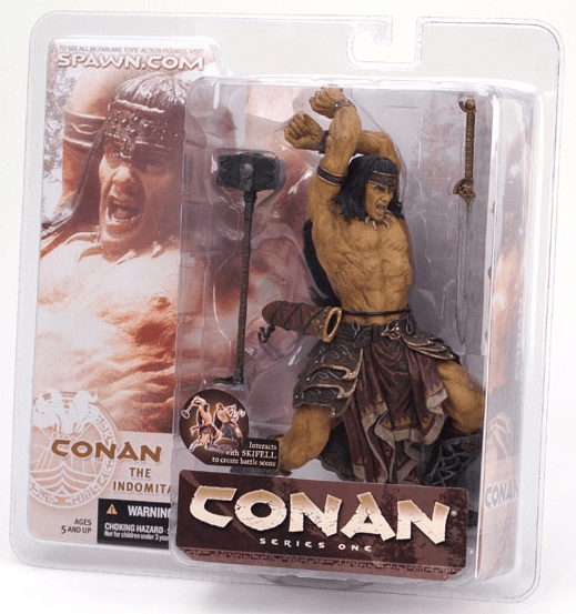 McFarlane Conan The Indomitable Action Figure