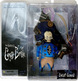McFarlane Corpse Bride Dwarf General Figure