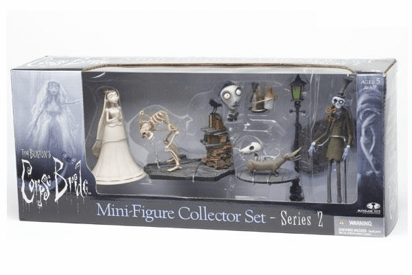 McFarlane Corpse Bride Mini Figure Collector Set 2