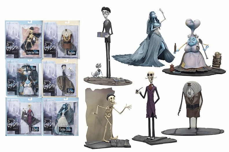 McFarlane Corpse Bride Series 2 Figure Set