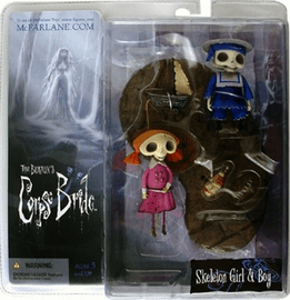 McFarlane Corpse Bride Skeleton Boy & Girl Figure Set