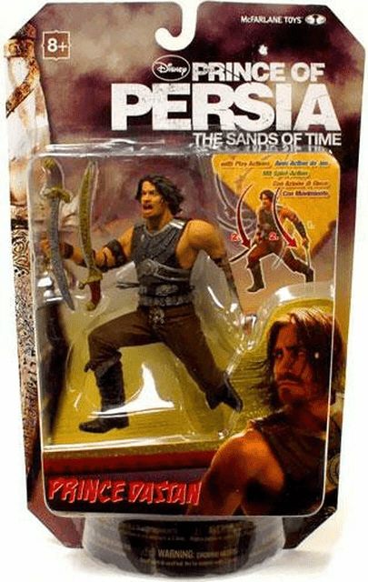 McFarlane Disney Prince of Persia Prince Dastan Warrior Figure