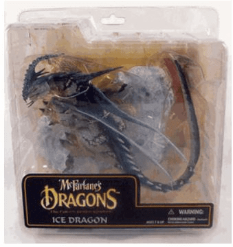 McFarlane Dragons Fall of the Dragon Kingdom Ice Dragon Clan Figure