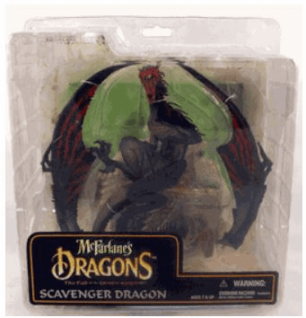 McFarlane Dragons Fall of the Dragon Kingdom Scavenger Dragon Clan