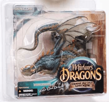 McFarlane Dragons Quest for the Lost King Water Clan Dragon Figure
