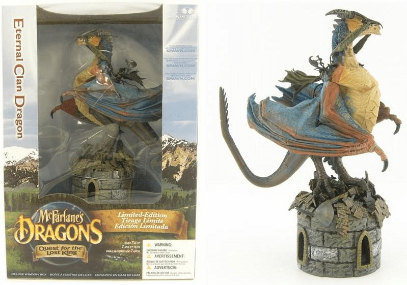 McFarlane Dragons Series 1 Eternal Clan Deluxe Figure Box Set