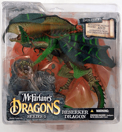 McFarlane Dragons Series 5 Berserker Dragon Figure