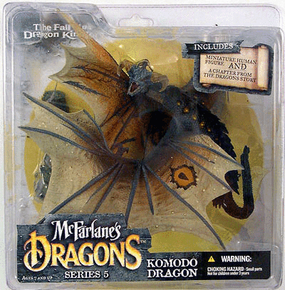 McFarlane Dragons Series 5 Komodo Dragon Figure