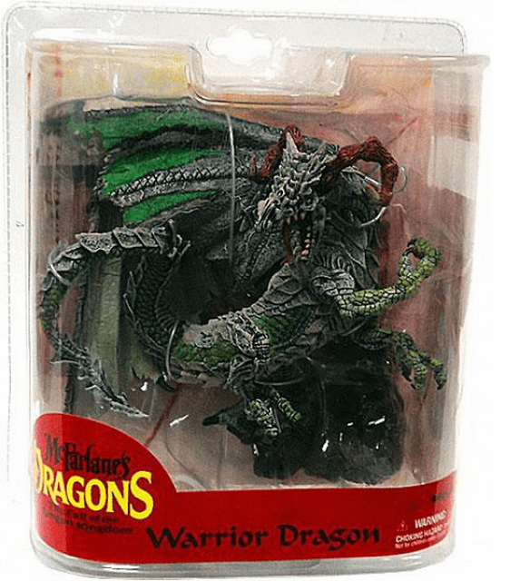 McFarlane Dragons Series 7 Warrior Dragon Clan Figure