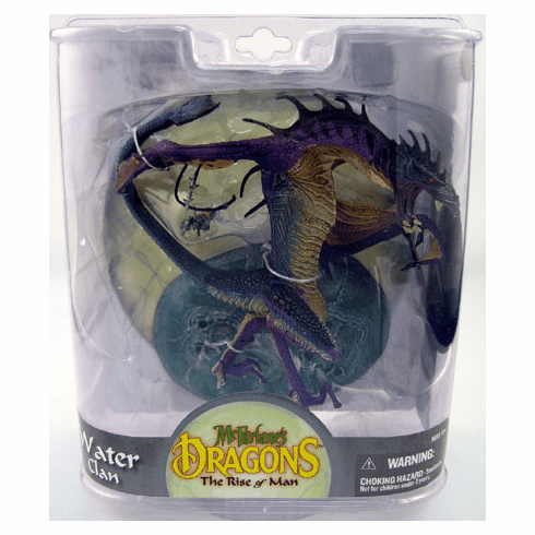 McFarlane Dragons Series 8 The Rise of Man Water Dragon Figure