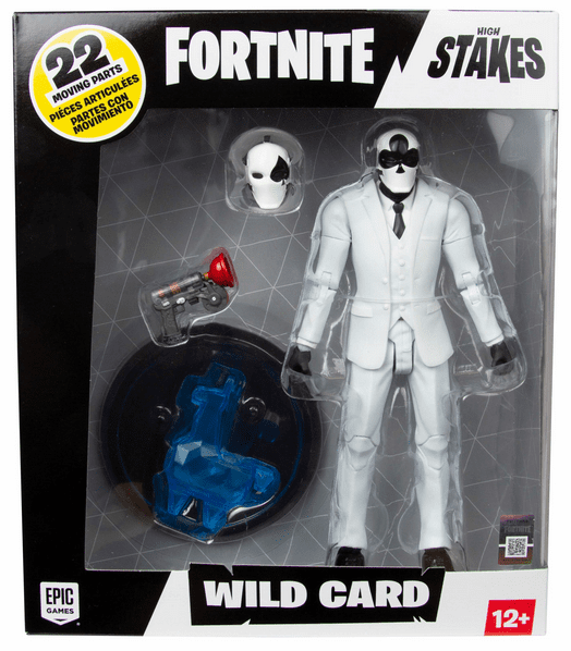 McFarlane Fortnite Black Wild Card Figure