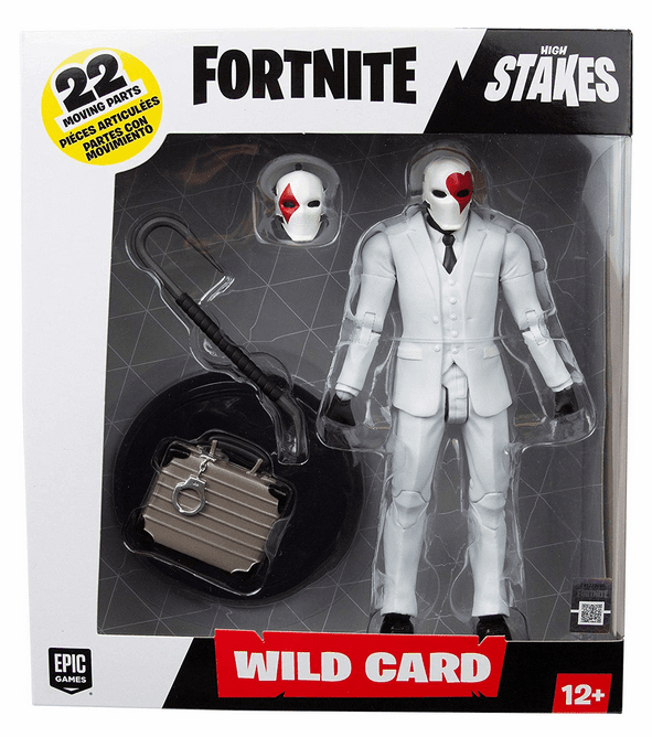 McFarlane Fortnite Red Wild Card Figure