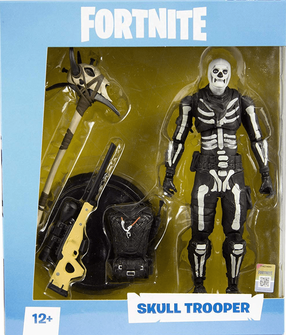 McFarlane Fortnite Skull Trooper Figure