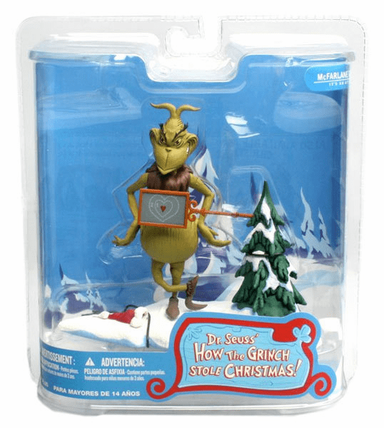 McFarlane Two Sizes Too Small Grinch Figure