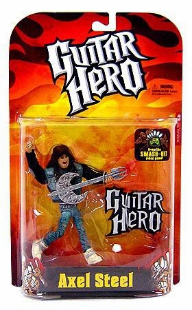 McFarlane Guitar Hero Axel Steel Action Figure